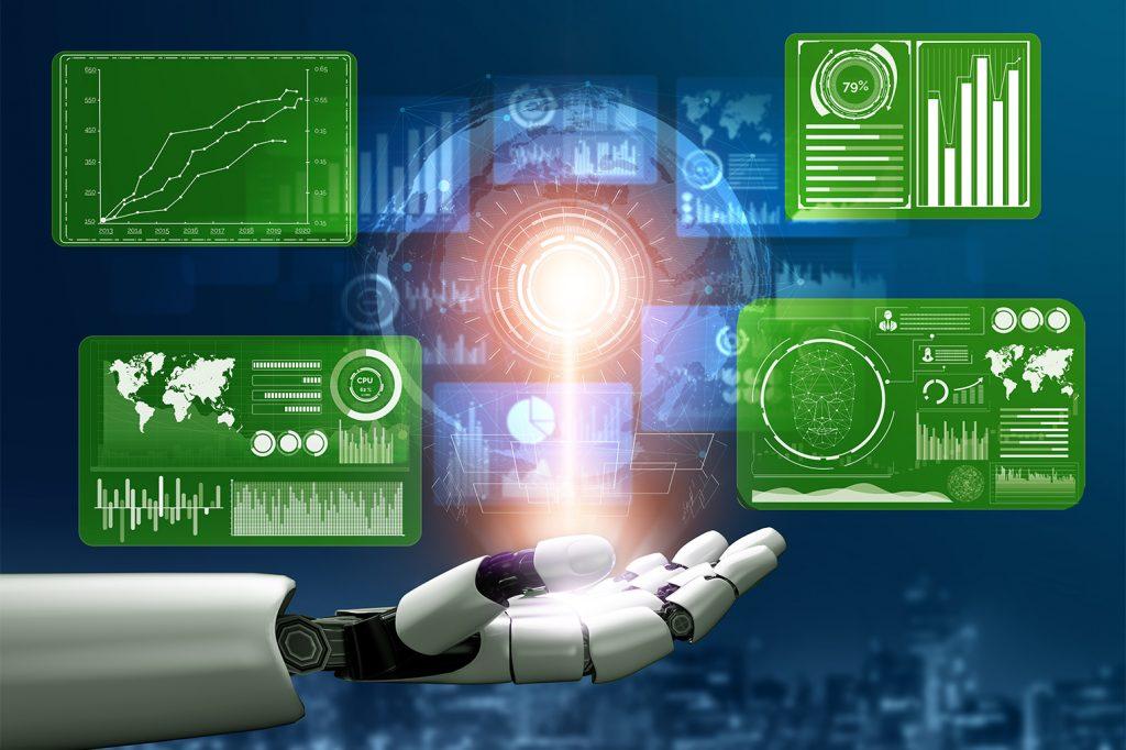 3d,rendering,futuristic,robot,technology,development,,artificial,intelligence,ai,,and