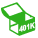 Icon: Careers 401k